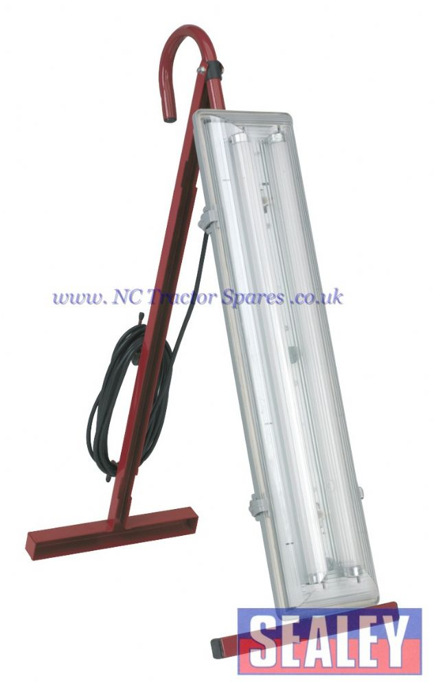 Fluorescent Floor Light 2 x 18W/230V